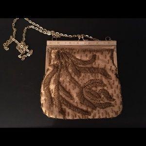 Handbags - Antique 1920's hand beaded purse